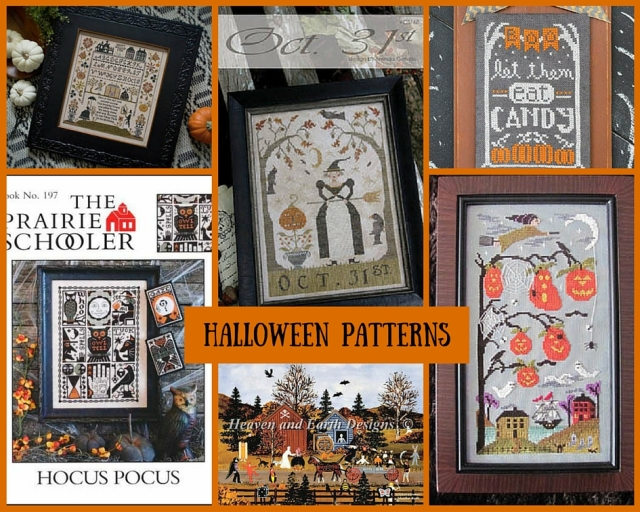Halloween-Patterns