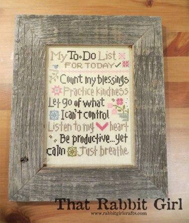 Lizzie Kate--My To Do List