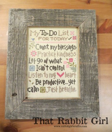 Lizzie Kate--My To Do List