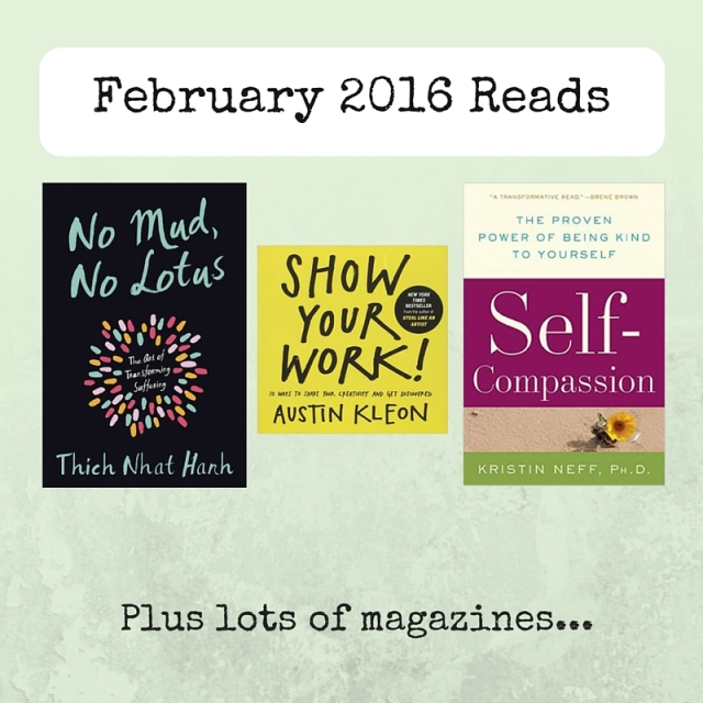 Books read in February 2016