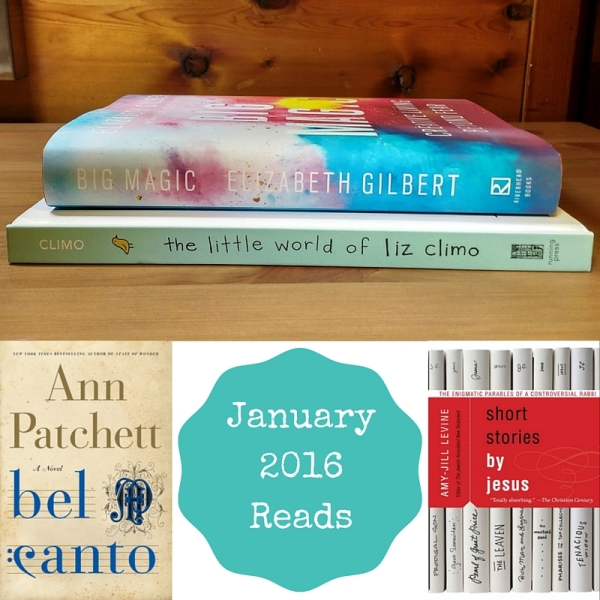 Books Read in January 2016
