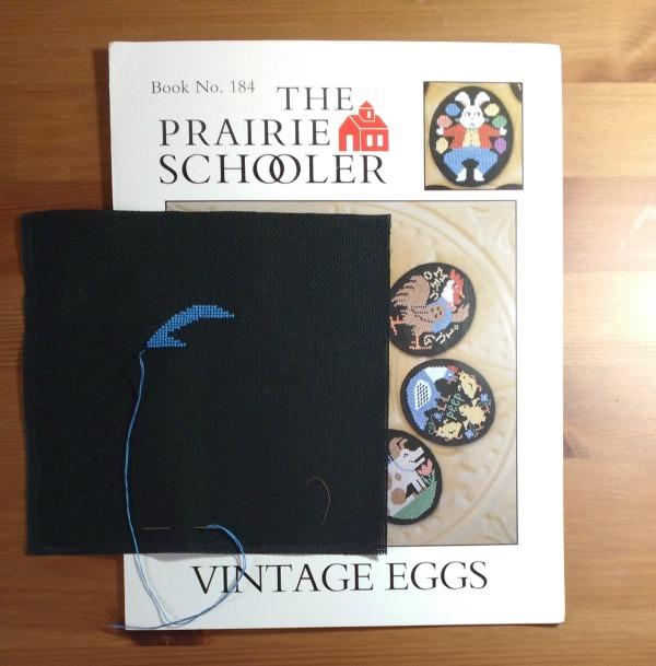 Prairie Schooler Vintage Eggs Rooster