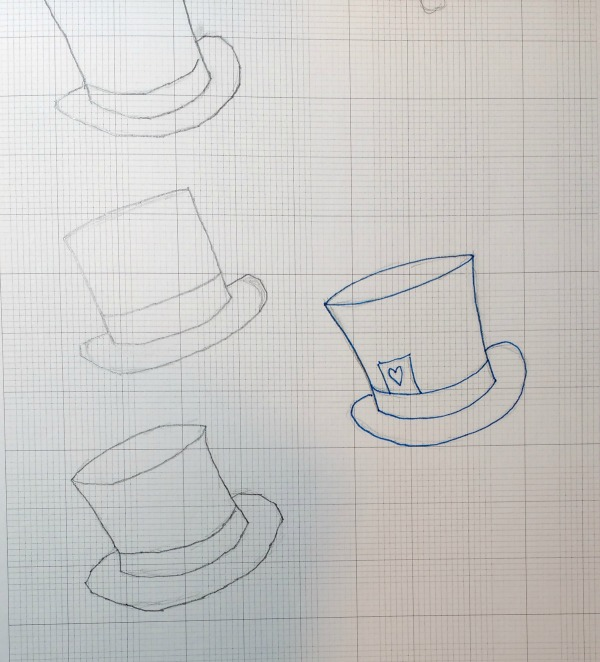Sketches for hat