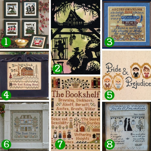 Literary-CrossStitch-Patterns-Collage