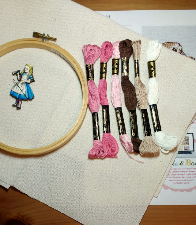Starting a New Belle & Boo Cross-Stitch Project