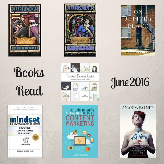 Books Read in June 2016