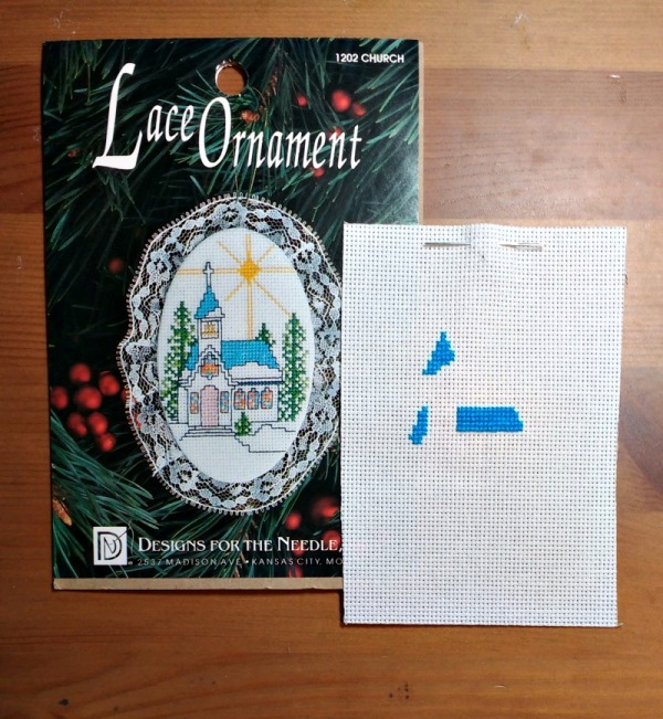 Lace Ornament Cross-stitch Church Start