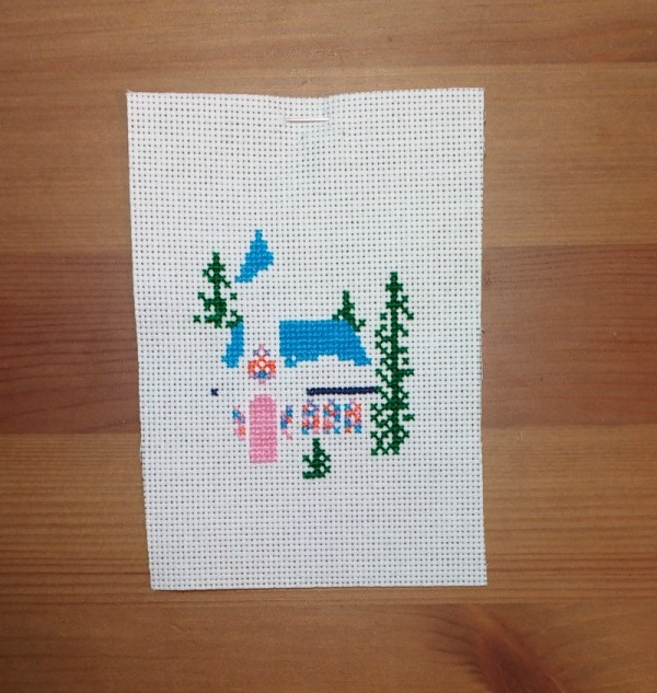 crossstitch-church-ornament-progress