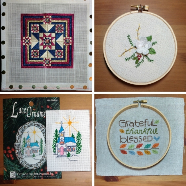 2016 cross-stitch, embroidery and needlework finishes