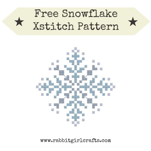 Winter Snowflake Pattern Graphic